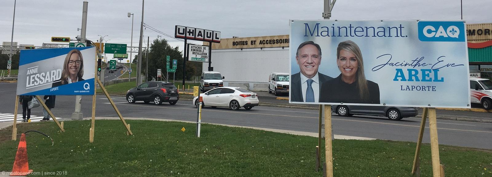 Един изборен ден в Квебек